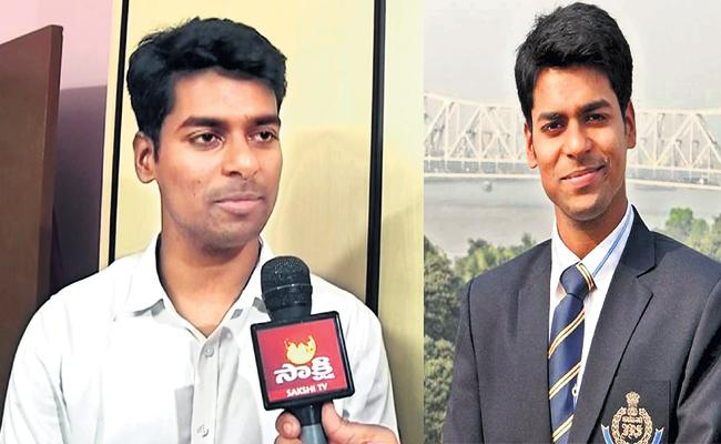 Telangana Anudeep Durishetty Tops Civil Services Exam 990 Mak - Sakshi