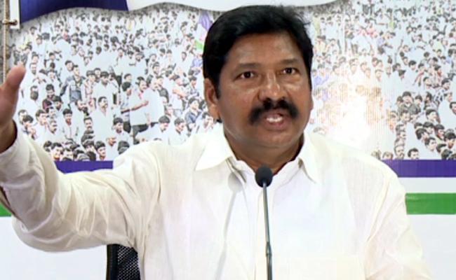 YSRCP Leader Jogi Ramesh Slams Minister Devineni Uma - Sakshi
