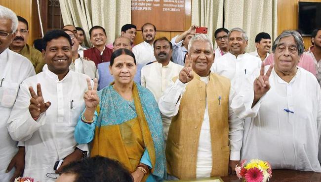 Rabri Devi Is Richest MLC In Bihar - Sakshi