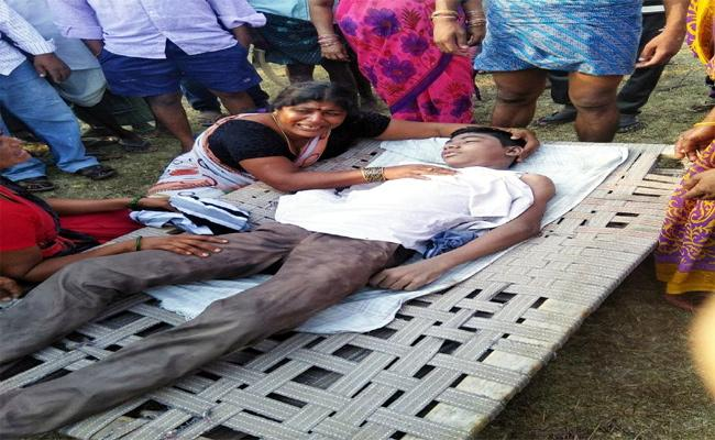 Student Death of Swimming - Sakshi