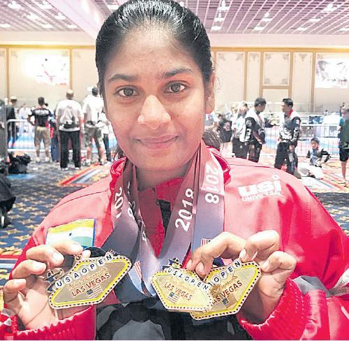 Karate Kid Dimple success story - Sakshi