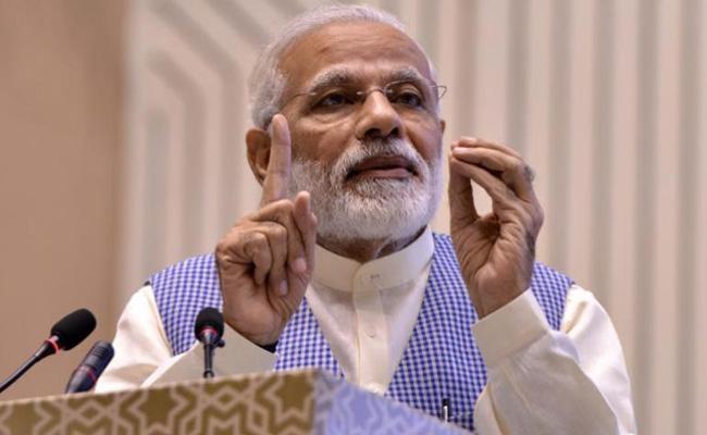 Modi Calls BJP MPs to Protest Over Impasses Parliament - Sakshi
