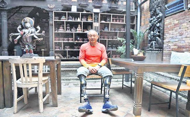 Handicap Zia to Climb Mount Everest Four Times - Sakshi