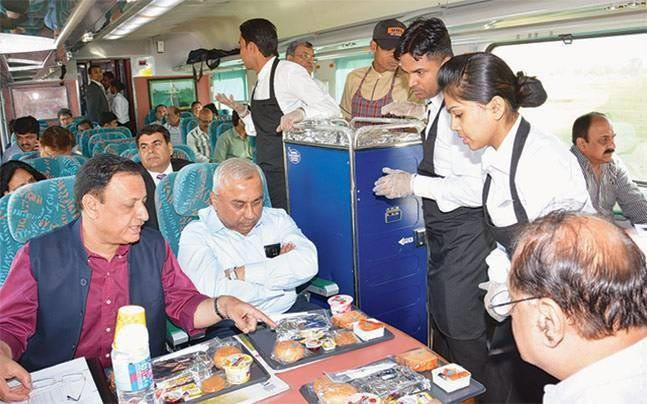 Railway Catering Services To Attract 5 Percent GST - Sakshi