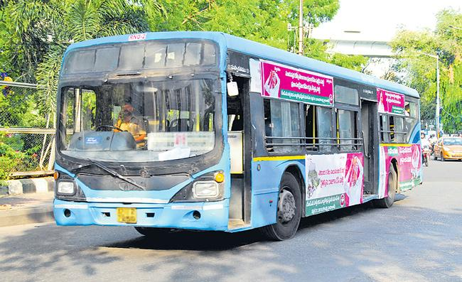RTC In Losses Due To Buses Damages - Sakshi