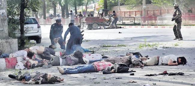 10 journalists, 11 children among 37 killed in multiple attacks in Afghanistan - Sakshi