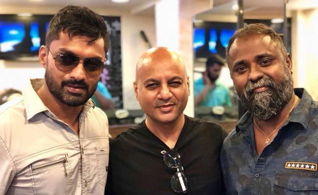 Kalyan Ram New Look For Guhan Movie - Sakshi