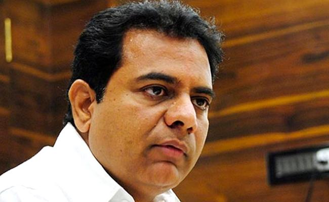 KTR Convoy Vehicle Mets With A Road Accident - Sakshi