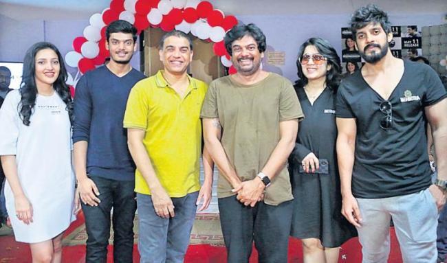 Dil Raju Fantastic Words about Mehbooba Movie - Sakshi