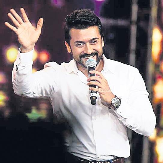 Suriya expresses his love and respect for Mammootty and Mohanlal - Sakshi