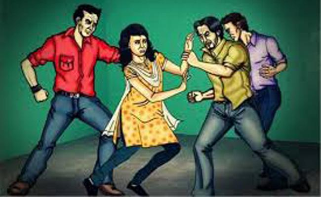 The girl was raped by three men - Sakshi