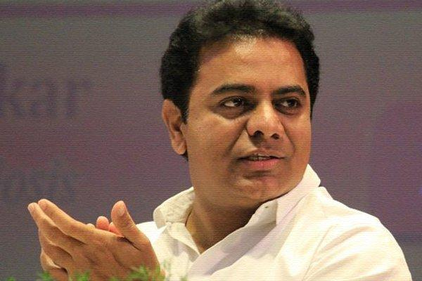 Minister KTR Says Rs 5 Lakhs Insurance Scheme To Formers - Sakshi