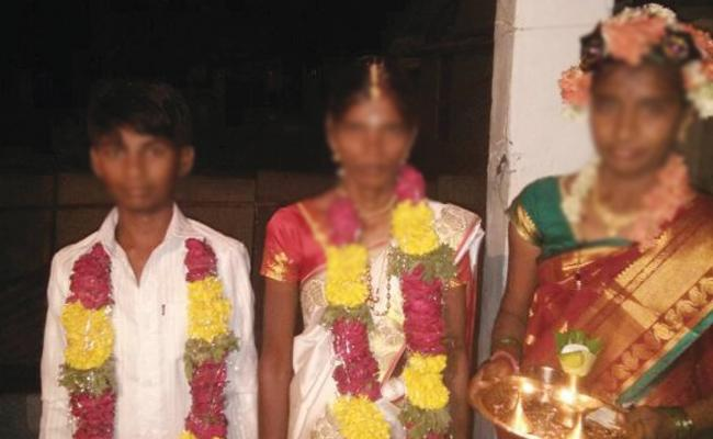 Minor Boy Marriage With Young Woman In Kurnool - Sakshi