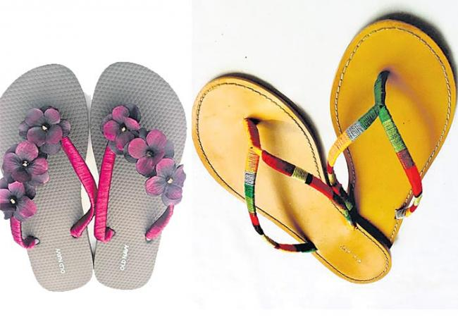 slippers new models - Sakshi