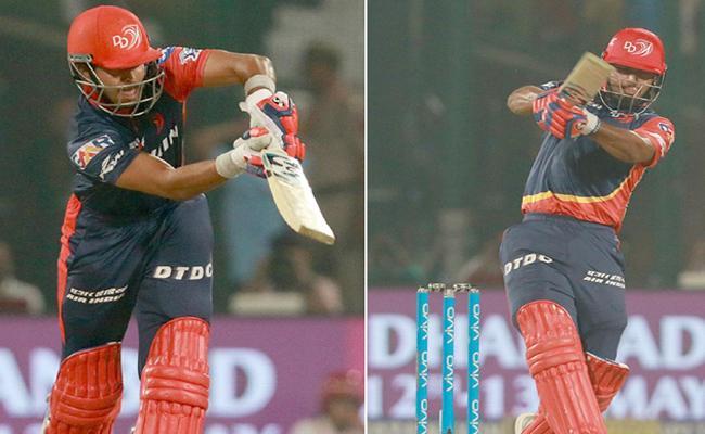 IPL Delhi Daredevils Set Target 182 Against to RCB - Sakshi