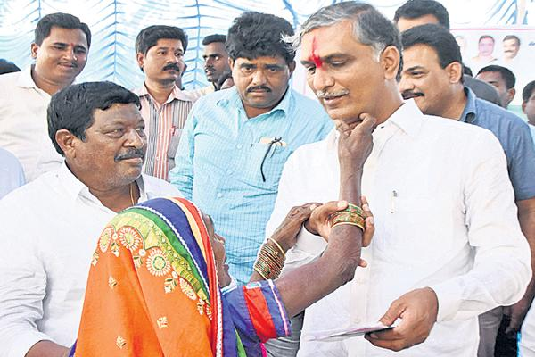Harish Rao Comments on Congress Leaders - Sakshi