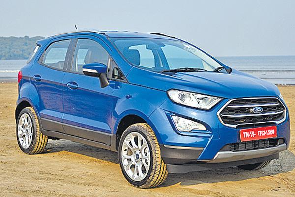 Ford India expands EcoSport portfolio - Sakshi