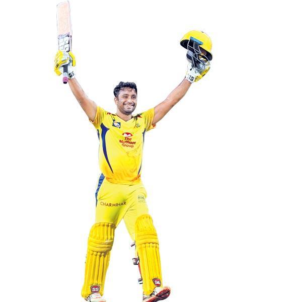 Rayudu century helps Chennai all but book playoff berth - Sakshi