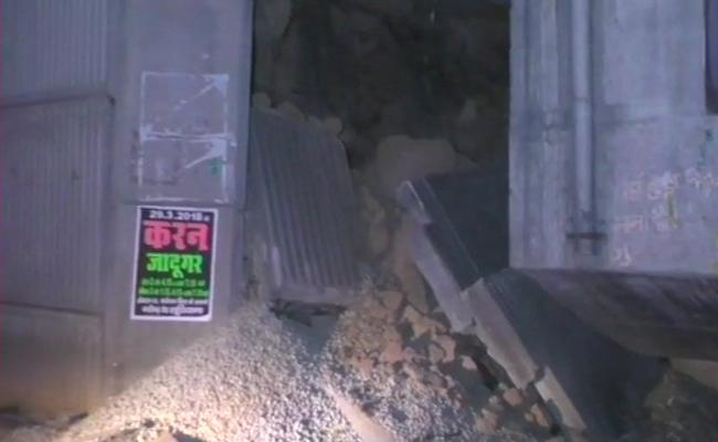 Crack On Gill Chowk Flyover - Sakshi