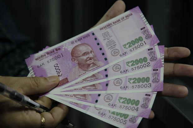 Indian rupee opens higher at 67.25 per dollar And slips into Red - Sakshi