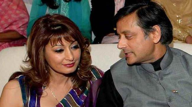 delhi police chargesheet filed againest shashi tharoor - Sakshi