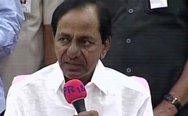 CM KCR Meeting With Employees Has Been Ended  - Sakshi