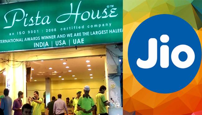 Jio Tie Up With Pista House - Sakshi