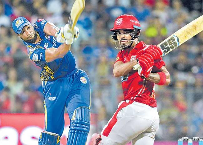 Mumbai Indians won by 3 runs - Sakshi