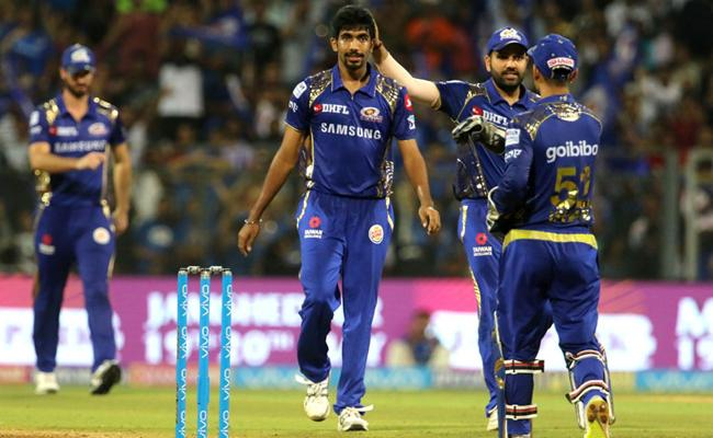 Mumbai Indians Won The Match Against KXIP - Sakshi
