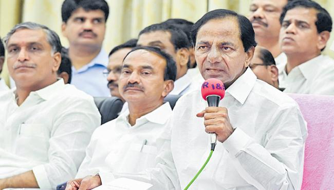 Telangana CM KCR Given Green Signal To PRC And Transfers Of Employees - Sakshi