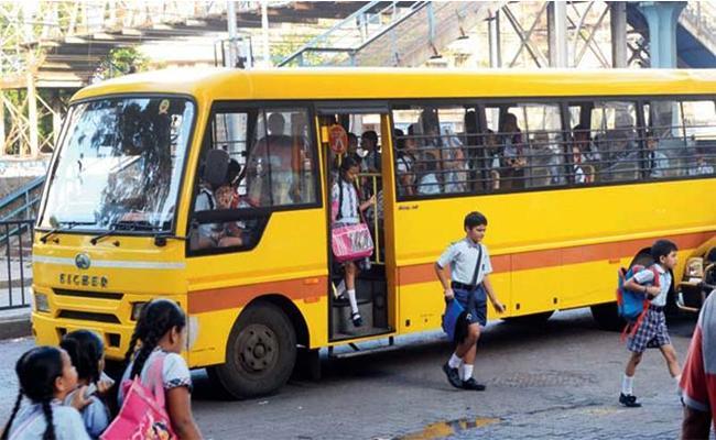 School Bus Mobile App For Bus Fitness Details - Sakshi