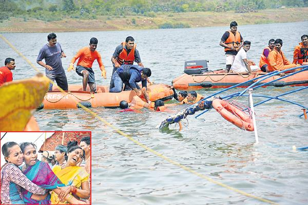 Boat capsized incident on Godavari river killed 26 people - Sakshi