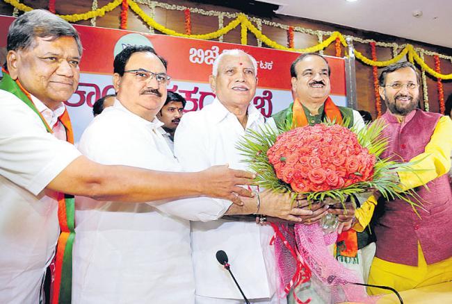 Yeddyurappa to be Karnataka CM - Sakshi