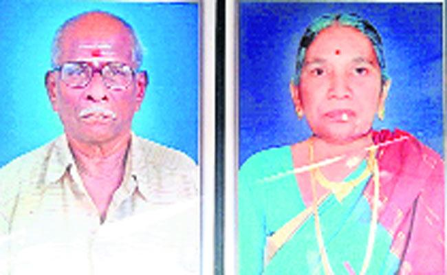 Elderly couple commits suicide - Sakshi