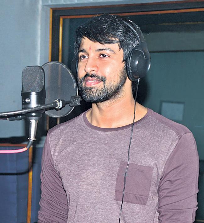 Chiranjeevi Son-in-law Kalyan Dev Starts Dubbing - Sakshi