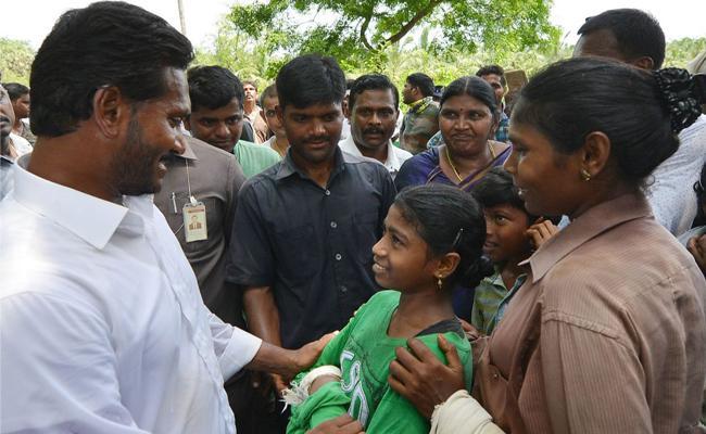 YS Jagan Mohan Reddy Says Children Should Be Sent To School - Sakshi
