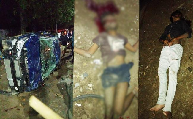 Two Young Man Killed In Jeedimetla Road Accident - Sakshi