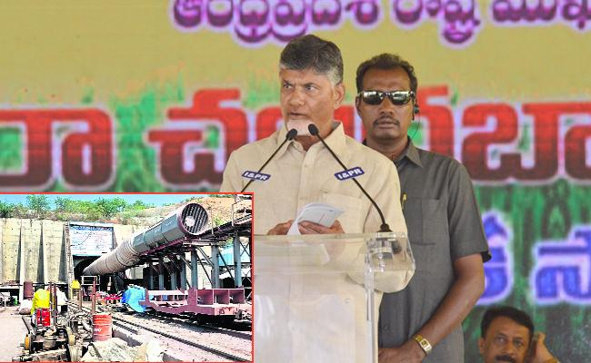 Water From Veligonda Project In This December - Sakshi