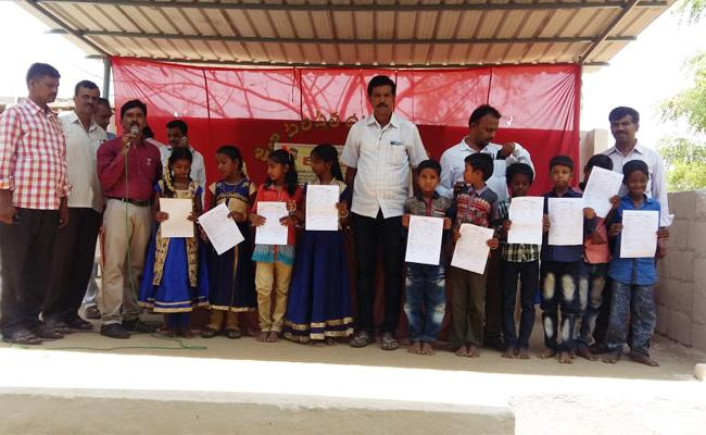 Teachers Campaign For Admit In Government Schools - Sakshi