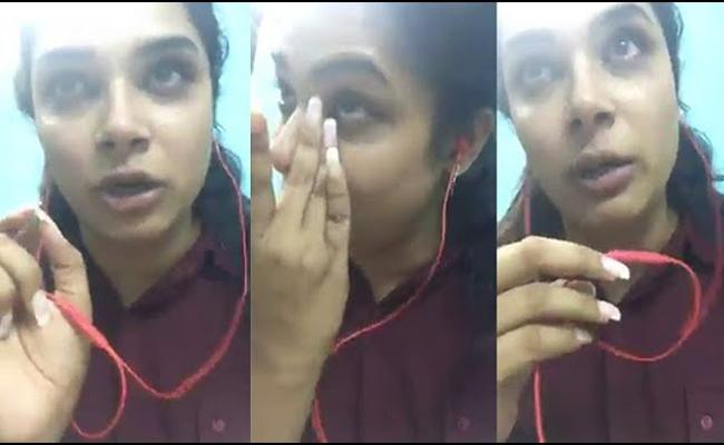 Hari Teja Gets Emotional And Video Goes Viral - Sakshi
