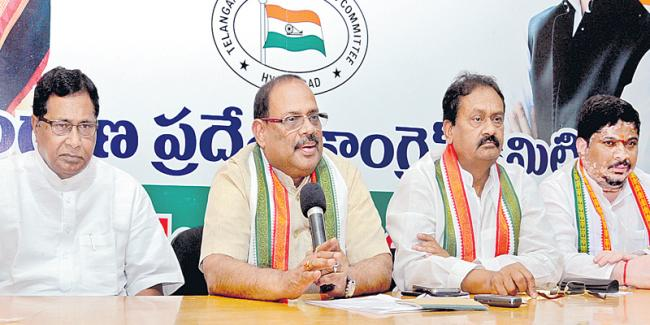 Congress to hold protests against BJP in all districts - Sakshi