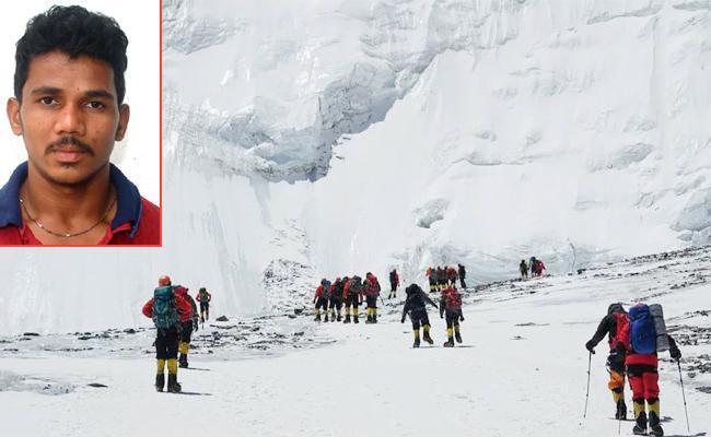 East Godavari Prasanna Kumar Climbed Mount Everest - Sakshi