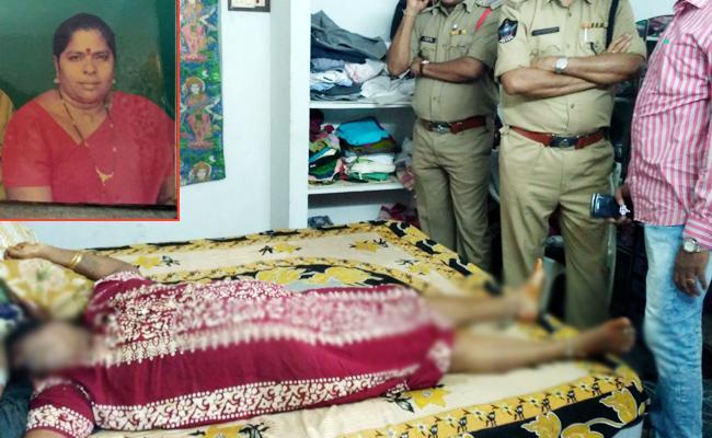 Woman Murder In Kakinada East Godavari - Sakshi