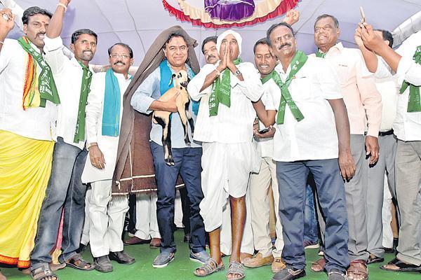 Ktr about raitubandu scheme in sircilla - Sakshi