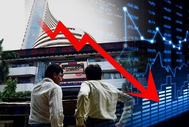 Sensex Down 301 Pts, Nifty Below 10600 - Sakshi