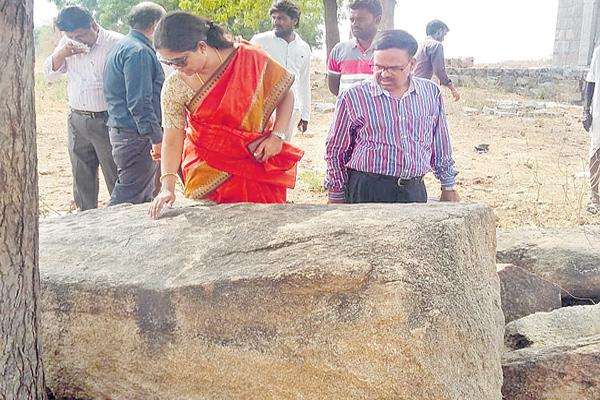 Protection for ganda rocks - Sakshi