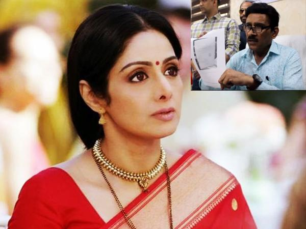 Sridevis death looks more like a planned murder says former ACP - Sakshi
