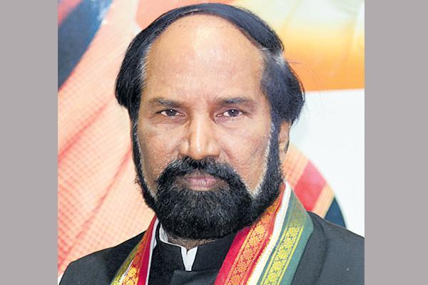 Uttam kuamar reddy commented over central government - Sakshi