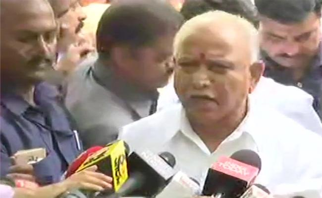 CM BS Yeddyurappa Says We Are Ready For Floor Test - Sakshi