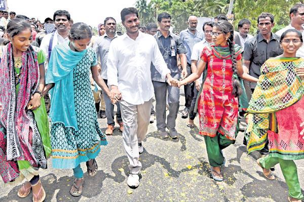 Ys jagan prajasankalpa yatra in west godavari district - Sakshi